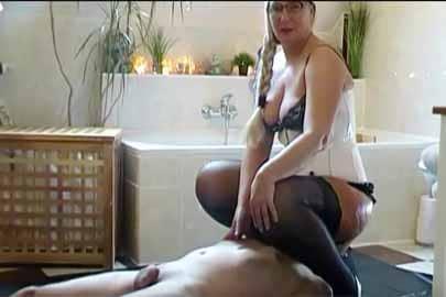 Amateurscat Spiele mit einem perversen Kaviar Paar