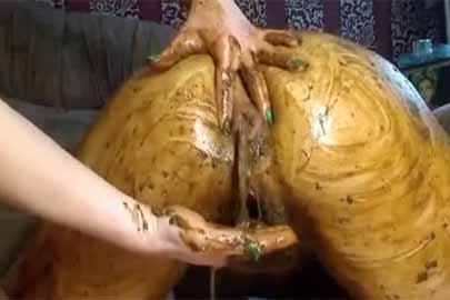 Lesben Kaviarsex da wird mit Scheiße geschmiert und mehr