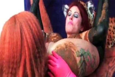 Rollenspiele extrem mit versauten Lesben